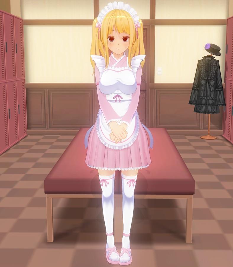 カスタムメイド3D2 なでしこメイド服